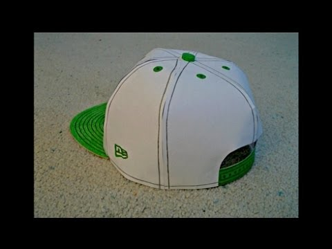 Papercraft Paper Model of a Monster Energy Snapback Hat