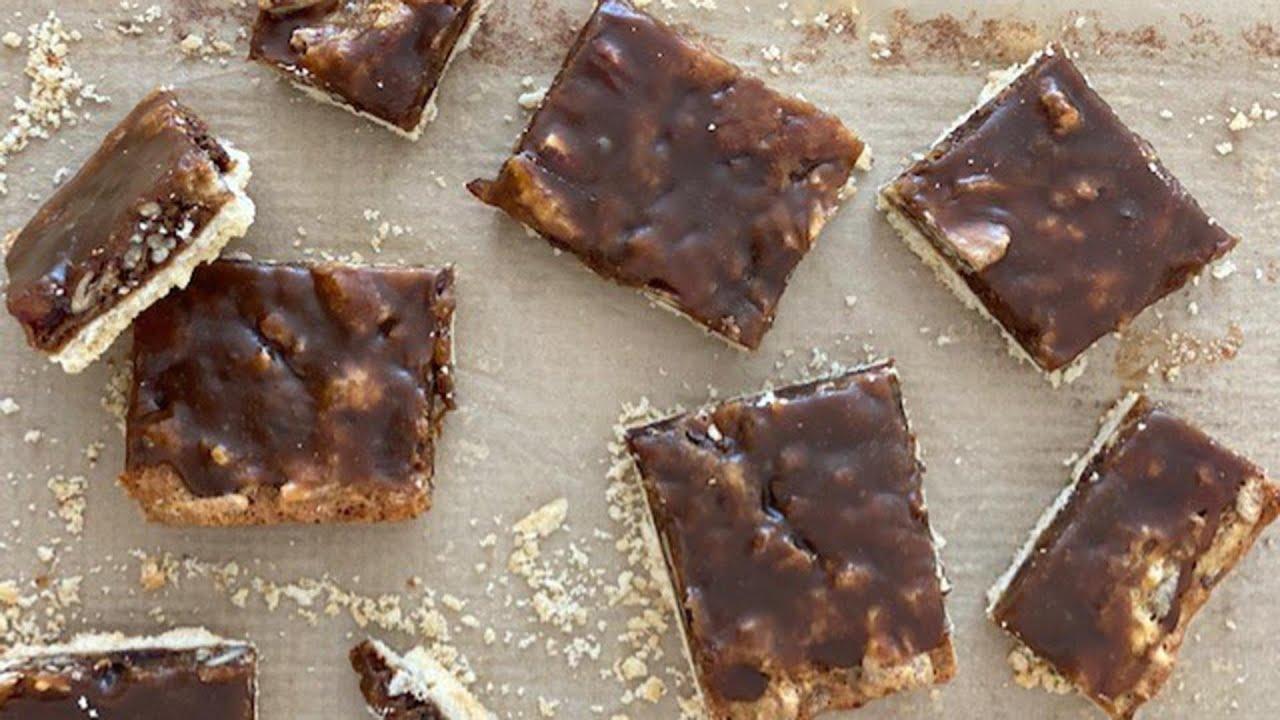 How To Make Sticky Toffee Pudding Bars | Sheet Pan Dessert | Ryan Scott
