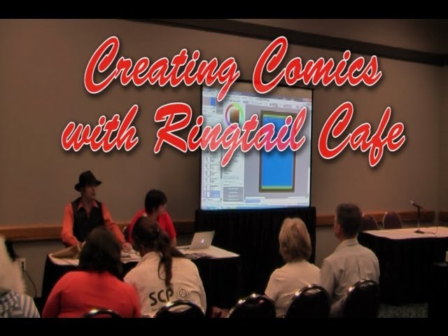 Creating Comics with Ringtail Cafe Panel