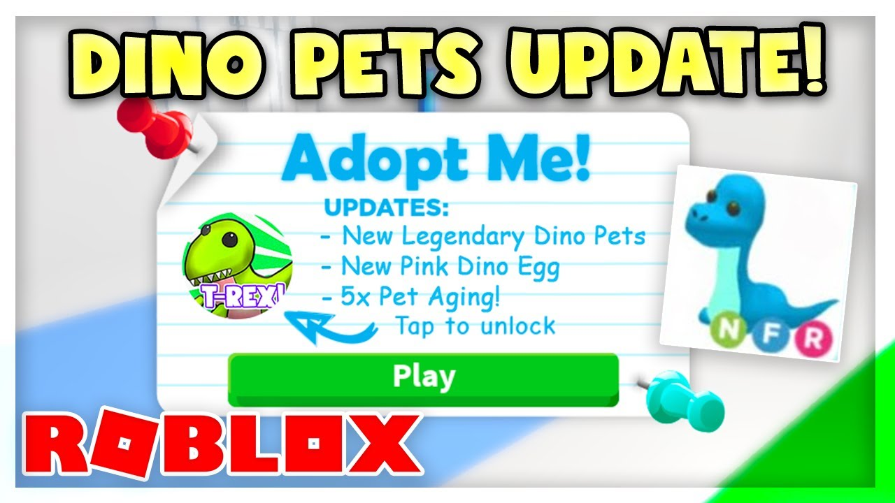 Dino Pet Update Full Access Pass Never Seen Before Adopt Me Roblox Youtube