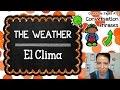 APRENDE A HABLAR ACERCA DEL CLIMA | CURSO DE INGLÉS GRATIS COMPLETO