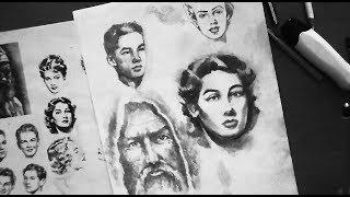 Портрет карандашом для начинающих/4 секрета штриховки для реалистичного рисунка!