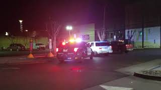Modesto Police traffic stop (headlight out)