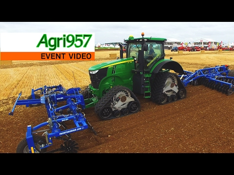 VISIT CAMSO at SIMA 2017! - INNOV-AGRI 2016: CAMSO's STAND, TRACK SYSTEM in ACTION and OEM PARTNERS