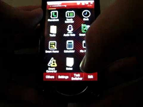 Samsung B7610 OmniaPRO with TouchWiz