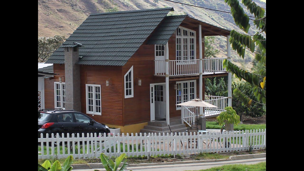 Casa prefabricada de madera 113m2 youtube - Construcciones casas prefabricadas ...