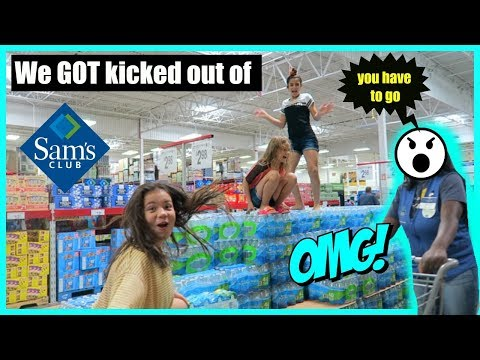 WE GOT  KICKED OUT OF SAM'S CLUB 😮🤪😤 #245