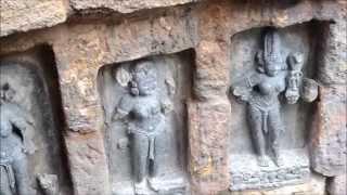 64 yoginis temple ( chausat yoginis shrine ), hirapur, bhubneswar, Odisha,India