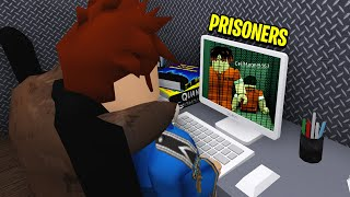 I Worked At BLOXBURG PRISON.. CAMERAS Caught Prisoners Escape! (Roblox)