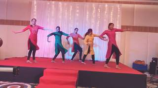 Gambar cover Dance performance for Adya baby's first birthday