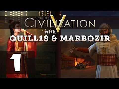 Civilization 5: Deity Twins [China / Morocco] #1