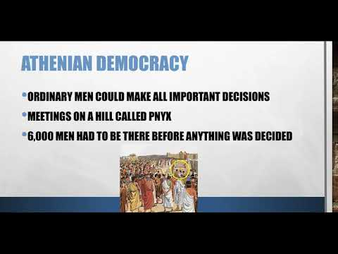 Democracy in Classical Athens PowerPoint Video Lesson