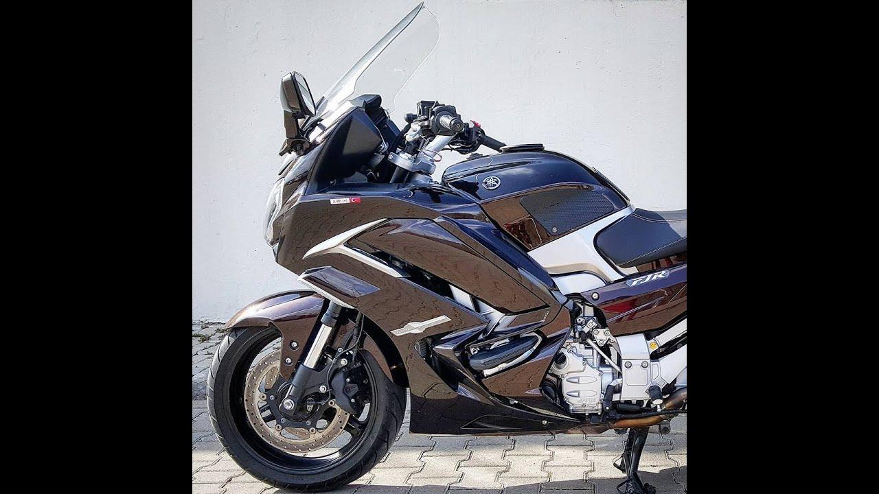 Yamaha Fjr Top speed 274 km - YouTube