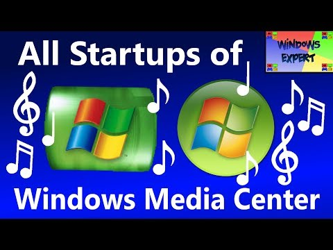 ALL STARTUPS OF WINDOWS MEDIA CENTER (2002-2015)