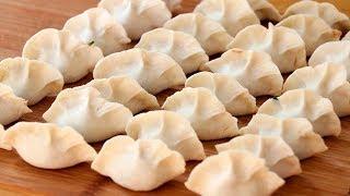 純手工水餃做法:這樣調餡才是關鍵,簡單易學,比飯店吃的還香! 【夏媽廚房】