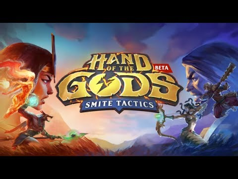 видео: hand of the gods: smite tactics  Обзор игры