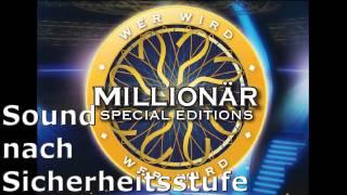 Wer wird Millionär Soundtracks [22] - Sound nach Sicherheitsstufe