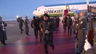 Официальный визит Президента Узбекистана Ислама Каримова в Астану