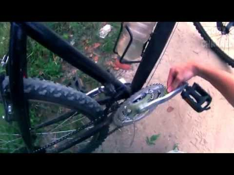 VLOG: Как одеть цепь на велосипед, не запачкав руки!