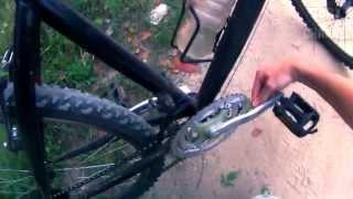 VLOG: Как одеть цепь на велосипед, не запачкав руки!(Поездка в лес и к озеру на велосипеде, а так же совет, как одеть слетевшую цепь на велосипед и не запачкать..., 2015-09-01T10:00:01.000Z)