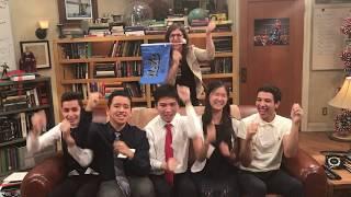 Mayim Bialik eight-clap with UCLA Big Bang Theory scholars thumbnail