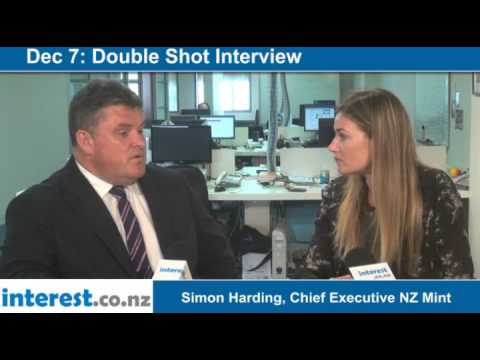 Double Shot Interview: Simon Harding, Chief Executive NZ Mint