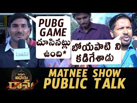 Vinaya Vidheya Rama Movie Public Talk || Ram Charan || Boyapati Sreenu