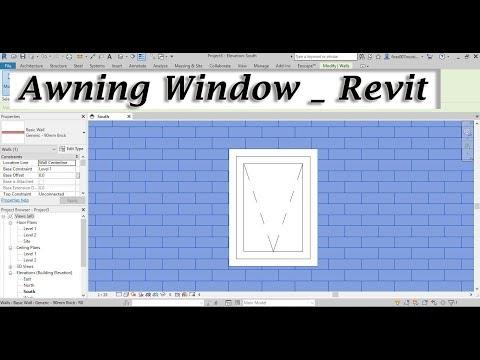 Revit Window 2 _ Awning Window Family