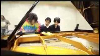ピアノデュオ レ・フレールとタップダンサー熊谷和徳のツアーリハーサル...
