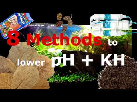 How To Lower Your PH And Hardness / Optimize Your Tap Water / 8 Methods