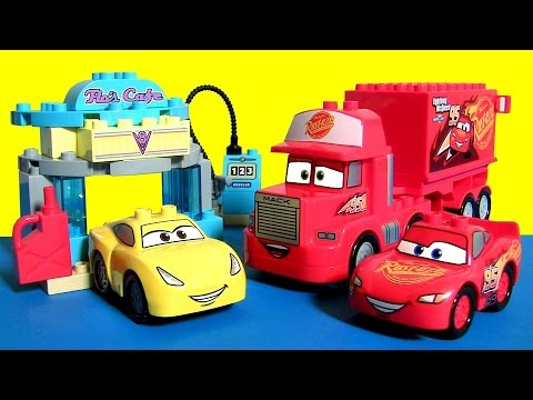 LEGO DUPLO CARS 3 TOYS FLO'S CAFE 10846 with Cruz Ramirez from ...