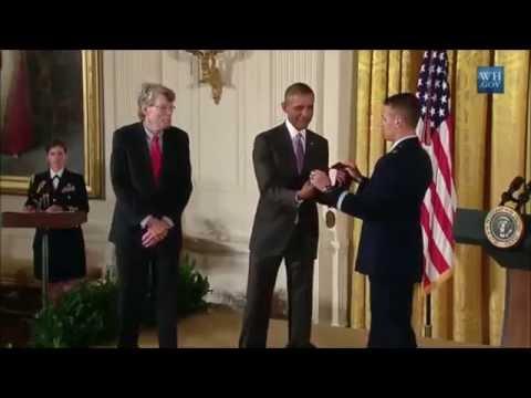 Stephen King 2014 National Medal of Arts Ceremony