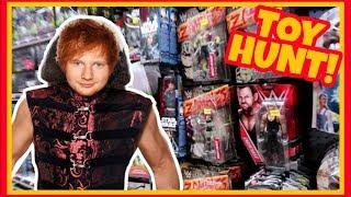 TOY HUNT!!! WHO IS ED HARDY??? WWE WRESTLING FIGURE FUN #106