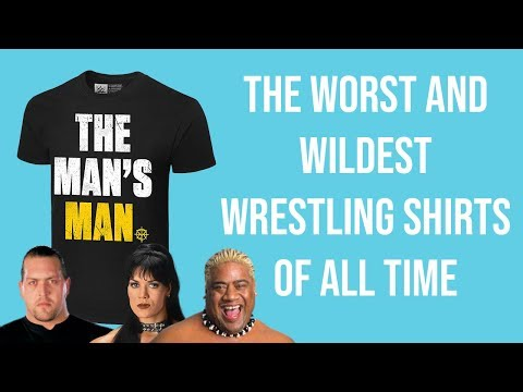 The Worst Wrestling Shirts Of All Time