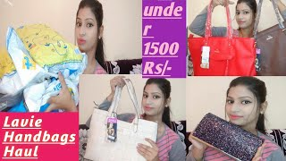 *LAVIE* handbag haul | Branded handbag Review || Flipkart haul ||