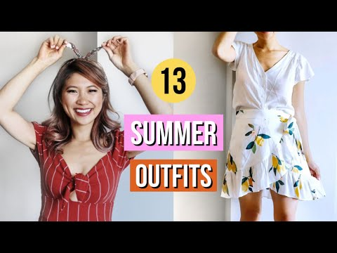 Fashion Finds - CASUAL SUMMER OUTFITS! 🌞Summer Capsule Lookbook 2019!