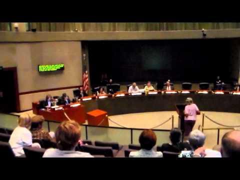 DeLong, City Council General Meeting, Long Beach, 9/4/12 (Part 1)