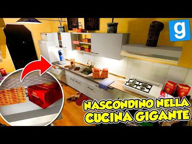 Gmod ITA - NASCONDINO Nella CUCINA GIGANTE!