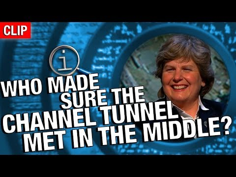 QI | Who Made Sure The Channel Tunnel Met In The Middle?
