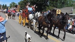 4th of July 2018 Parade in Ennis Montana