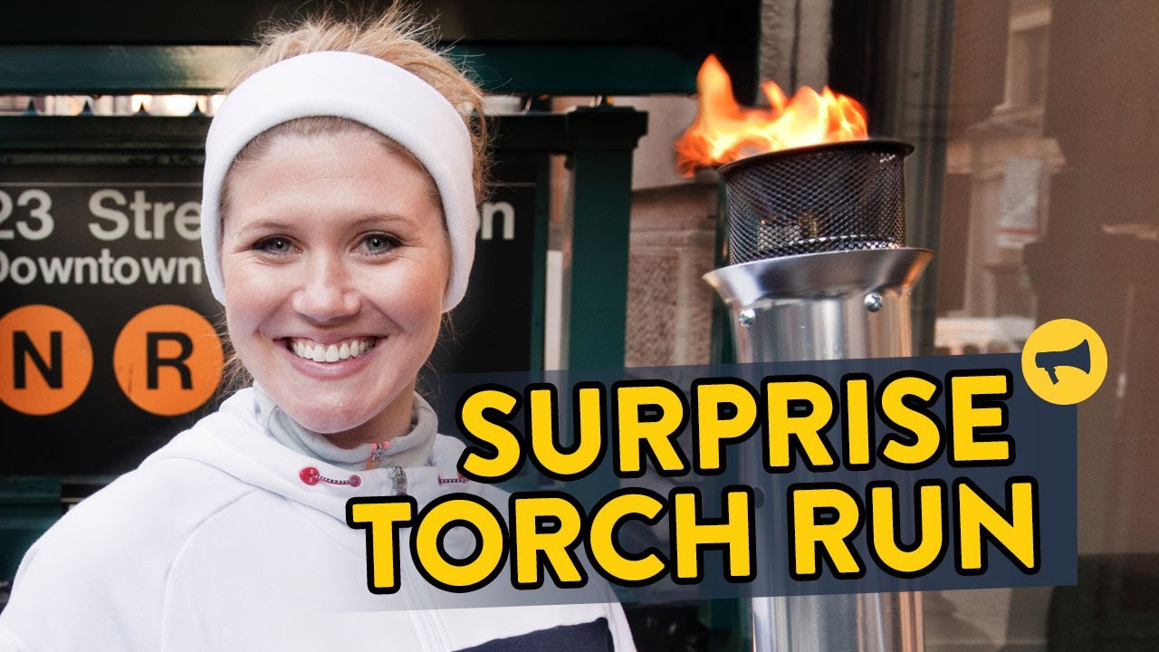 Surprise Torch Run