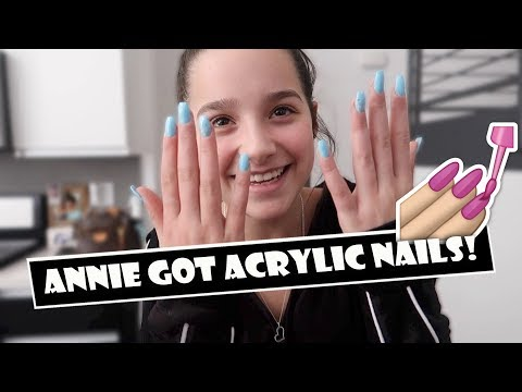 Annie Got Acrylic Nails 💅 (WK 374.6) | Bratayley