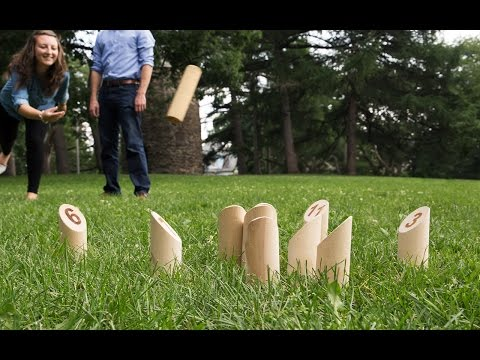 Mölkky - Outdoor Throwing Game