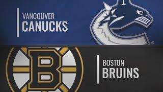Бостон vs Ванкувер | Vancouver Canucks at Boston Bruins | NHL HIGHLIGHTS | НХЛ ОБЗОР МАТЧА