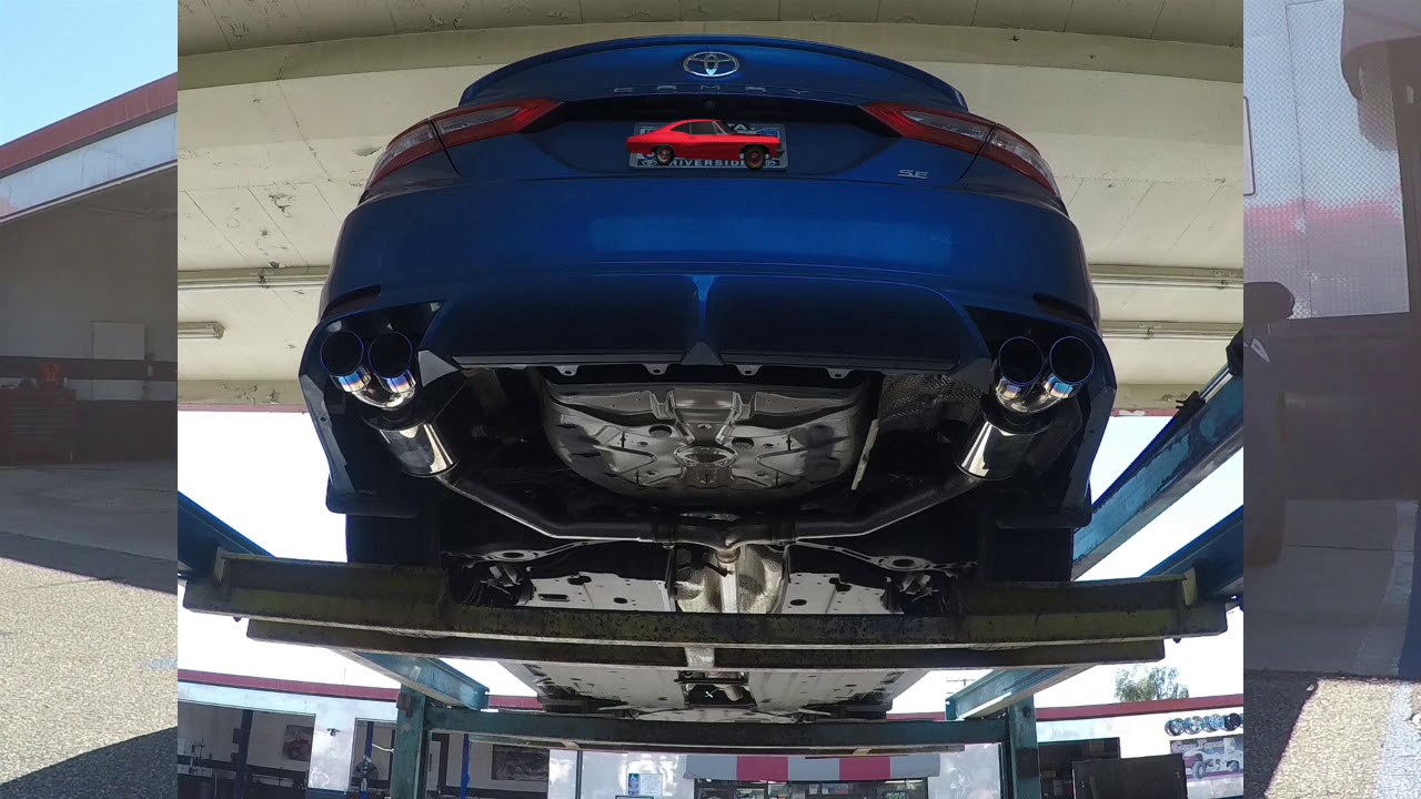 camry exhaust dual fms performance