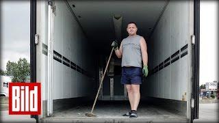 Flüchtlinge Am Eurotunnel - Deutsche Lkw-fahrer über Das Drama ( Calais / Refugees /trucker )