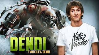 Dota 2 Stream: Na`Vi Dendi - Pudge (Gameplay)