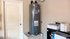 Rheem Water Heater Installation