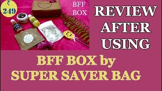 BFF Box Review After Using | Honest Review | 5 Products for ₹249 | SahiJeet