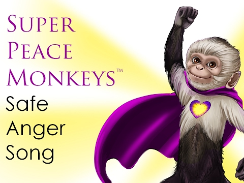 Safe Anger Management Cl Anti Bullying In Schools With Super Peace Monkeys